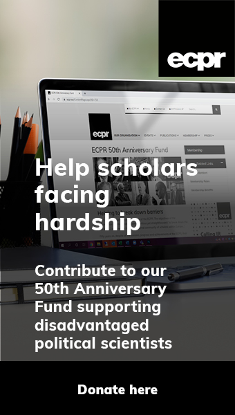 Help Scholars facing hardship: Donate to ECPR 50th Anniversary Fund