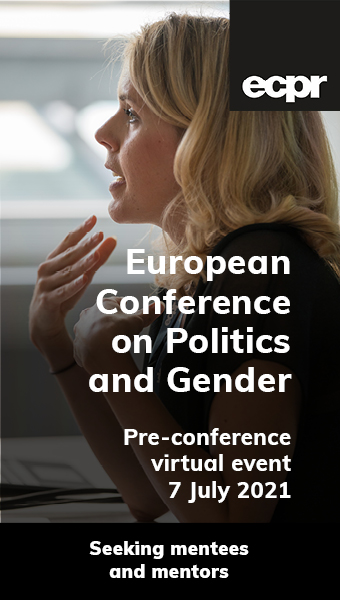 European Conference on Politics and Gender (ECPG): Pre-conference virtual event
