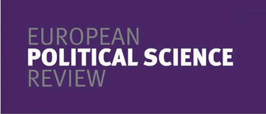 EPSR European Political Science Review